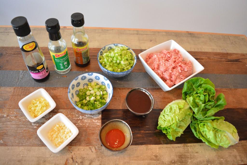Ingrediënten Lettuce Cups