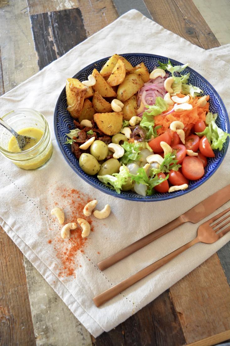 Vegan Salade Aardappel
