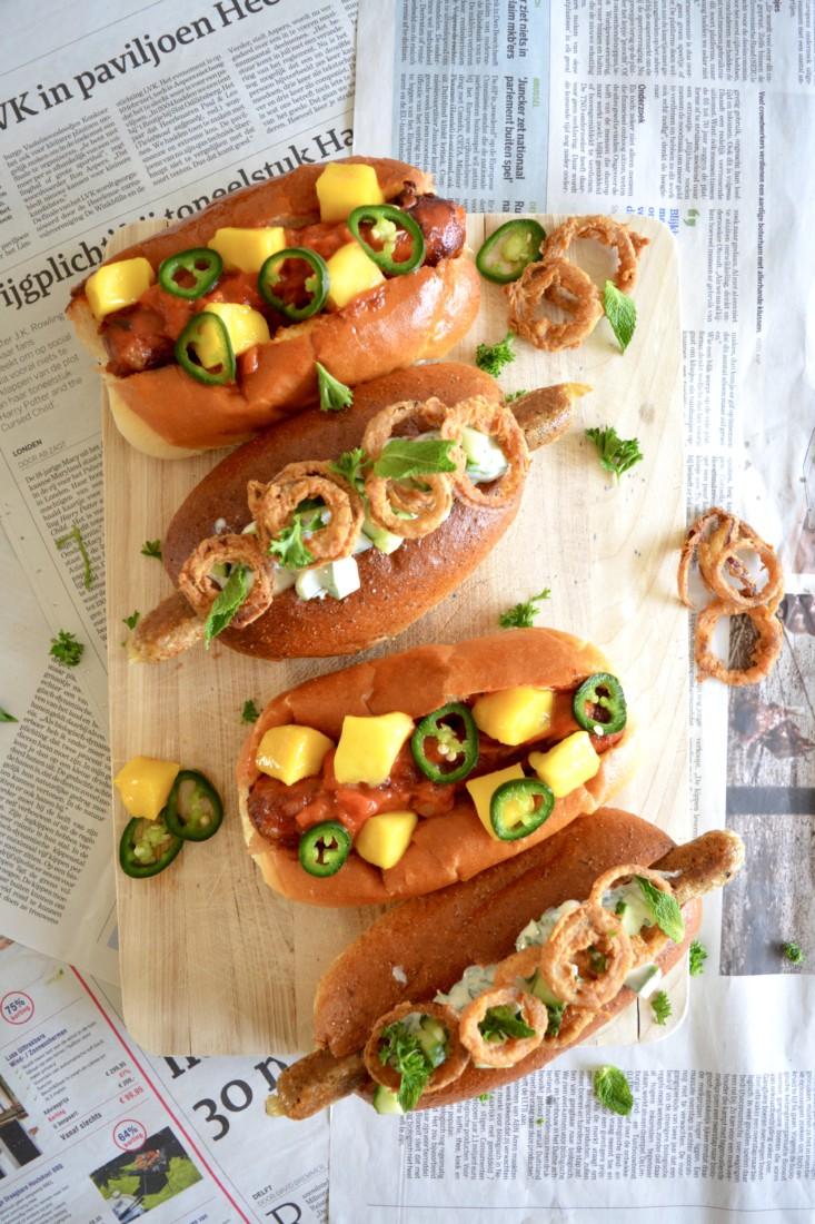 Hotdogs Vegan en Meatlover