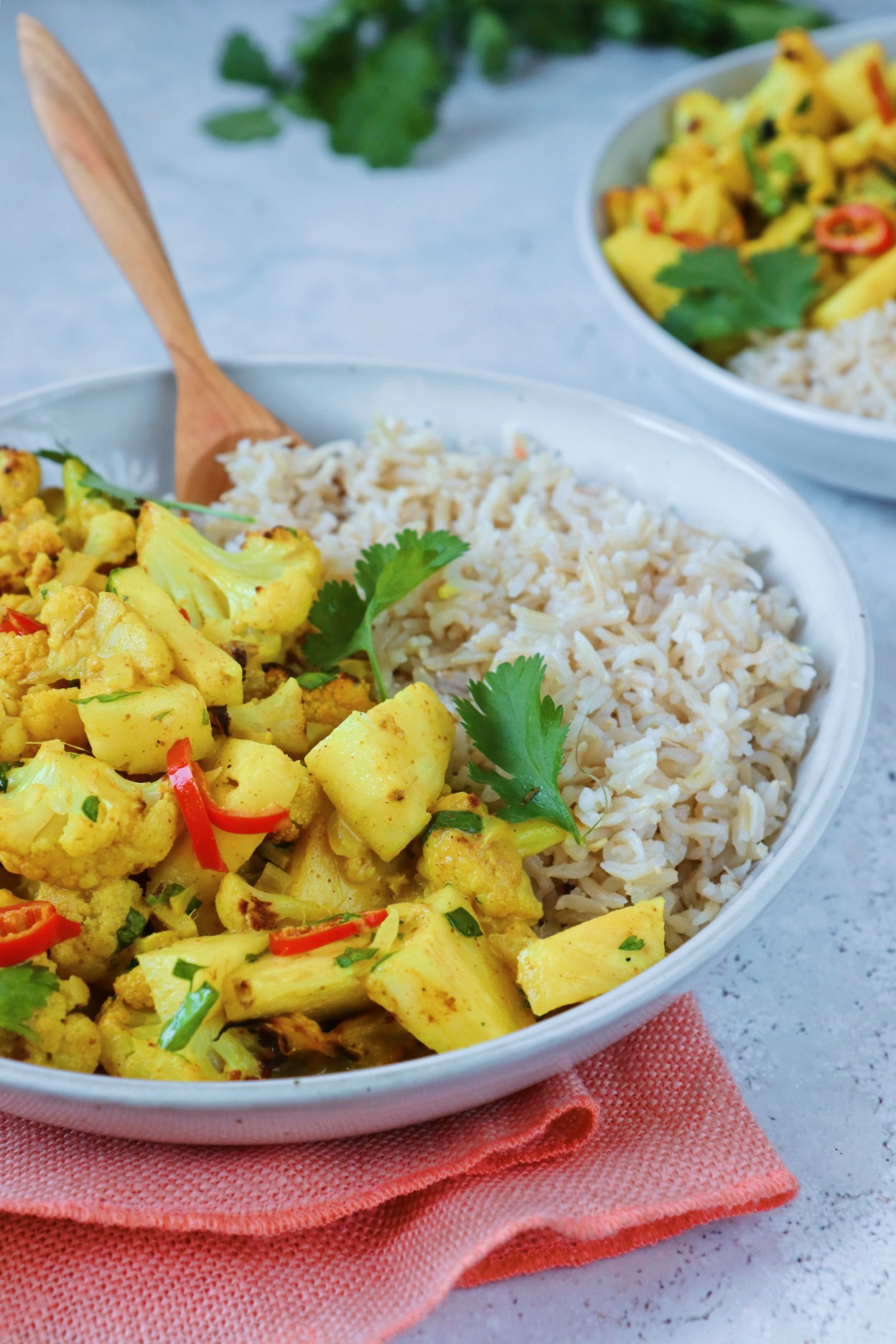 Bloemkool ananas curry www.jaimyskitchen.nl