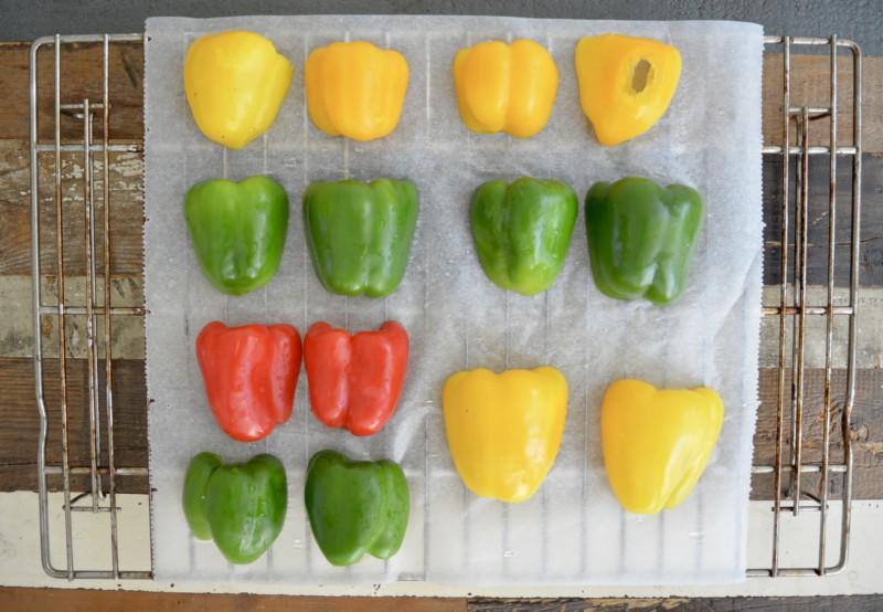 Hoe rooster je paprika's