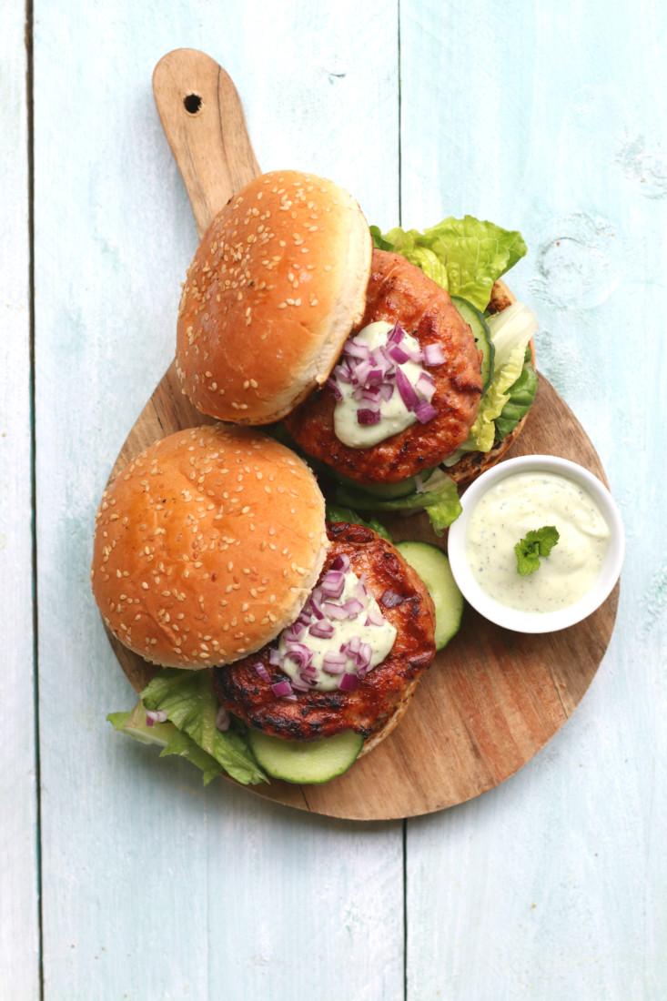 BBQ kipburger www.jaimyskitchen.nl