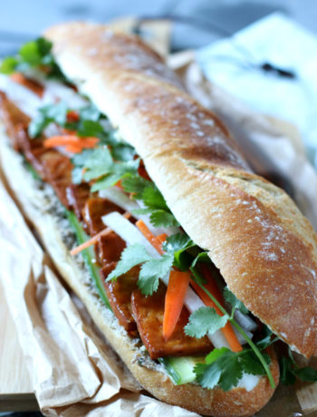 Vietnamese banh mi met tofu www.jaimyskitchen.nl