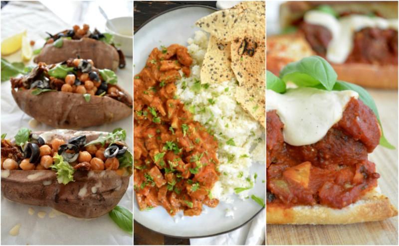 vegetarische recepten avondeten www.jaimyskitchen.nl