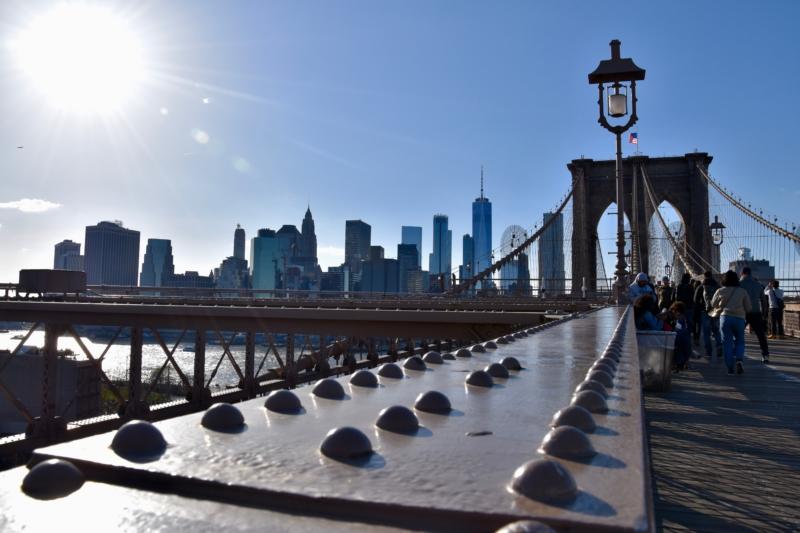 New York reis tips Brooklyn Bridge www.jaimyskitchen.nl