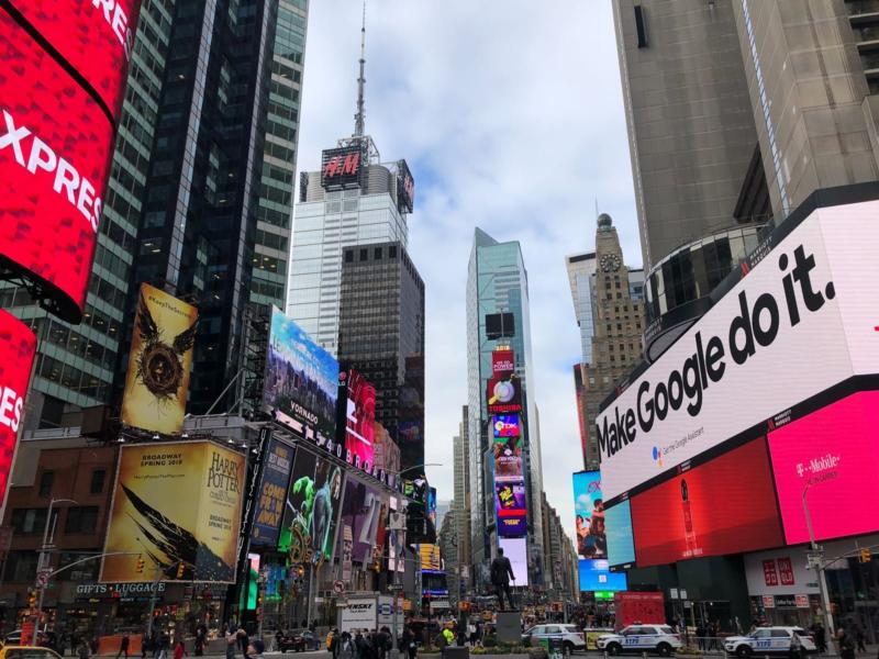 New York reis tips Times Square www.jaimyskitchen.nl