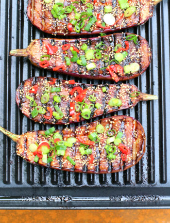 gegrilde aubergines www.jaimyskitchen.nl