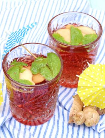 mocktail ginger ale grenadine 2