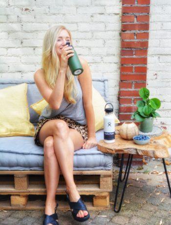 Tips duurzamer leven - hydroflask www.jaimyskitchen.nl