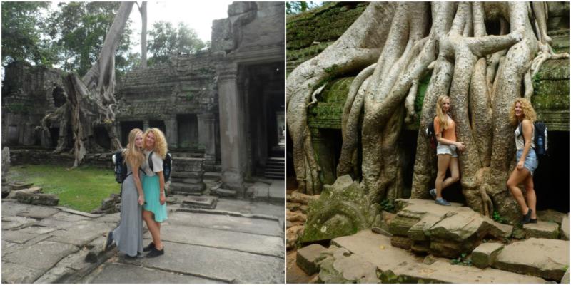 Cambodja Ta Prohm; de Tomb Raider tempel www.jaimyskitchen.nl