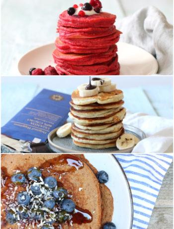 Pancakes 5x recepten www.jaimyskitchen.nl