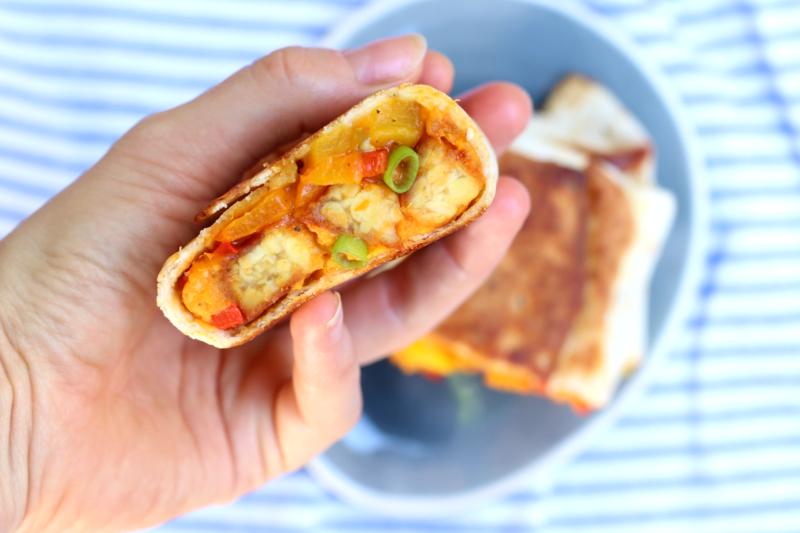 burrito met tempeh www.jaimyskitchen.nl