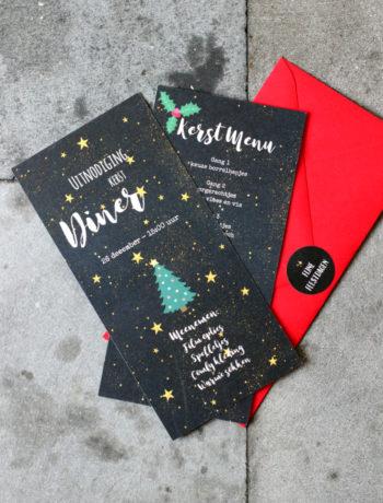 Kaartje2go Kerst menu kaartje www.jaimyskitchen.nl