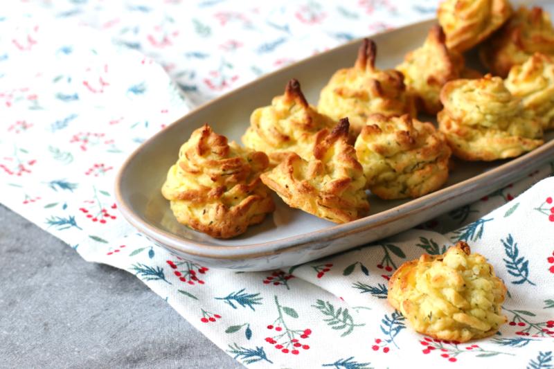 Pommes Duchesse bijgerecht met aardappel www.jaimyskitchen.nl