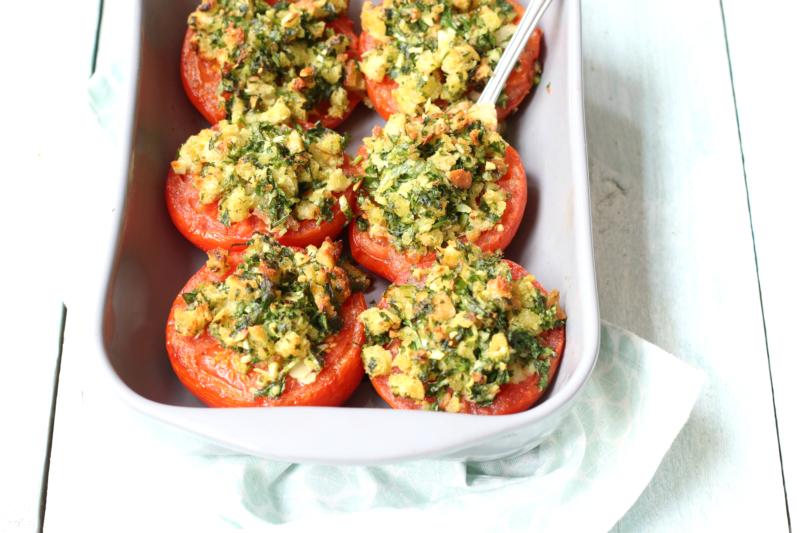 Recept Provenaalse tomaten uit de oven www.jaimyskitchen.nl