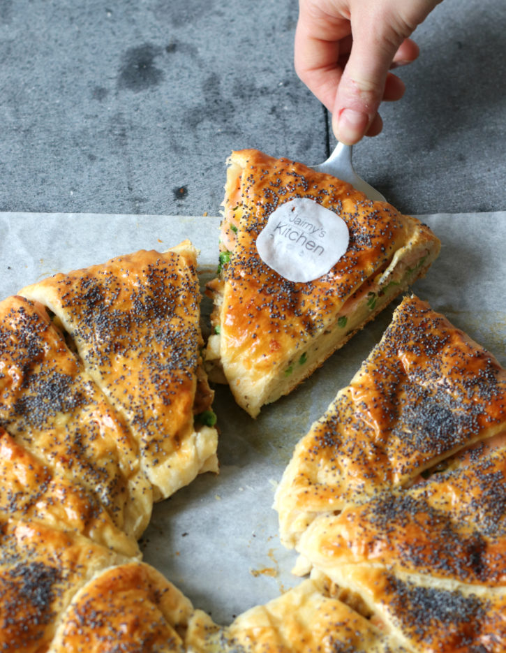 Croissant deeg Kerst recept brunch met zalm www.jaimyskitchen.nl