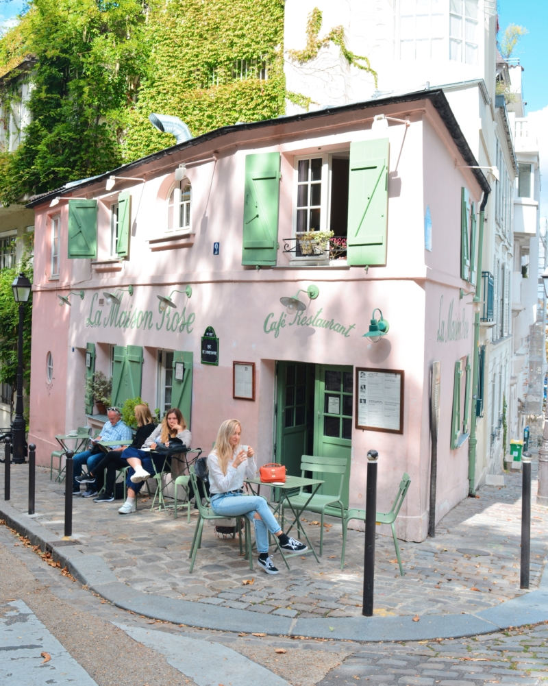 La Maison Rose Paris Montmartre hotspot www.jaimyskitchen.nl