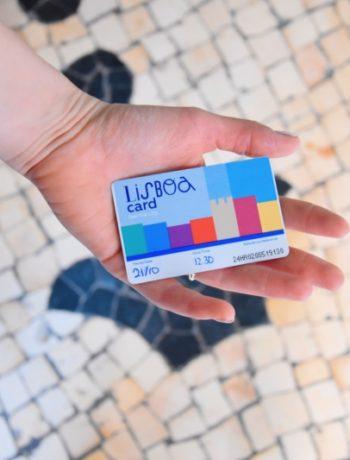 Lisaboa card lissabon kaart reizen www.jaimyskitchen.nl