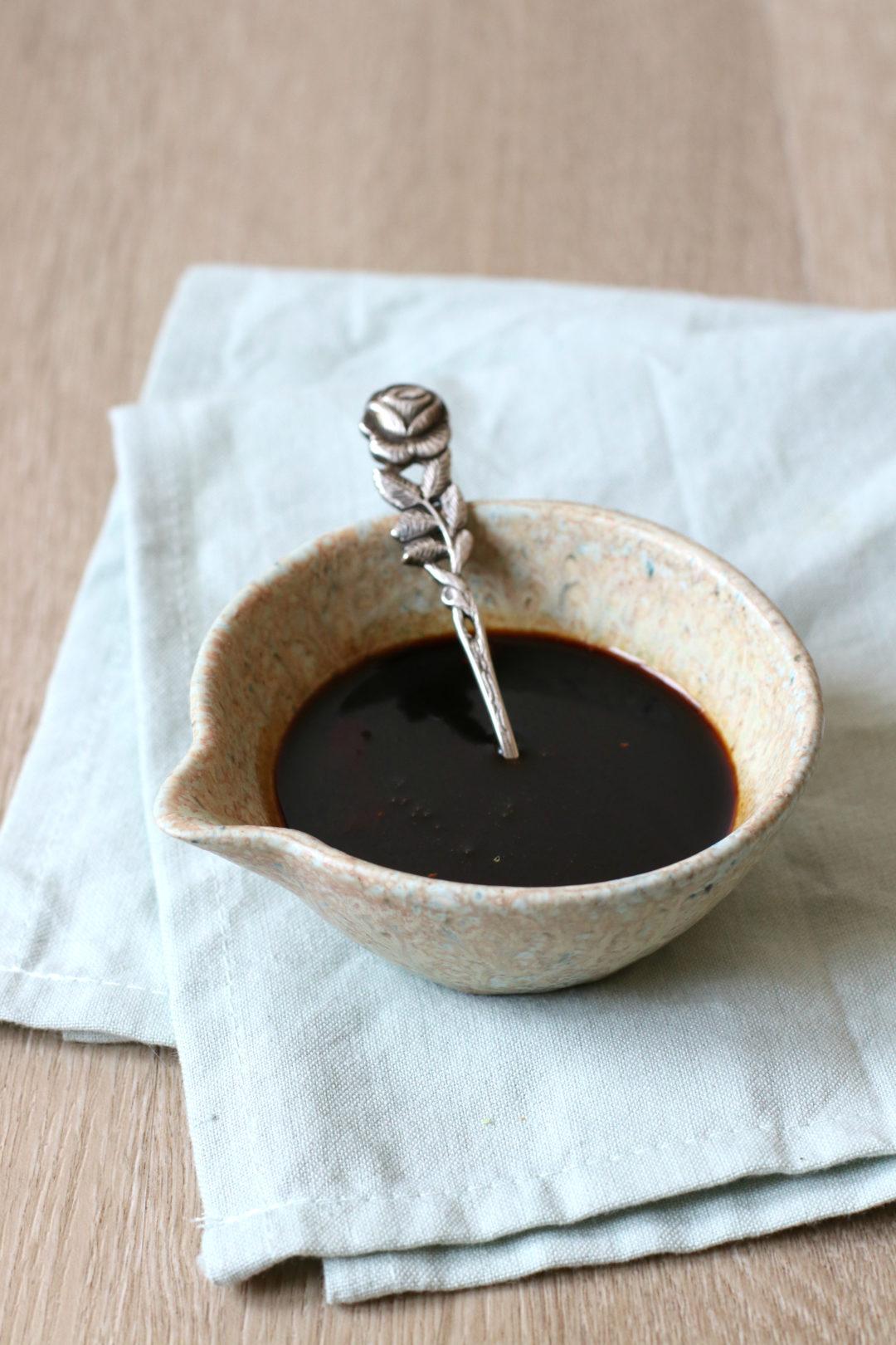 Hoe maak je teriyaki saus www.jaimyskitchen.nl