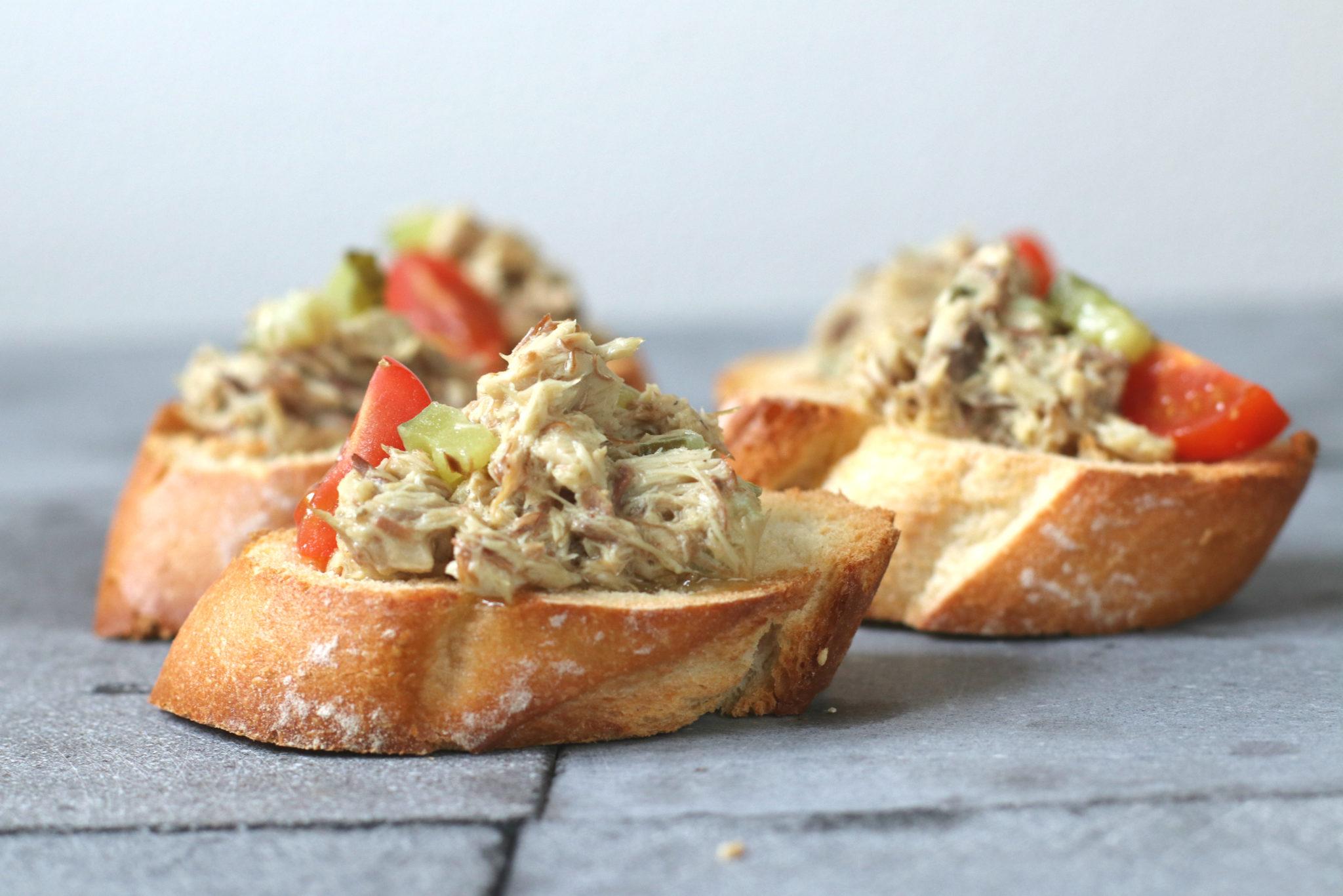 Makreel salade recept snel www.jaimyskitchen.nl