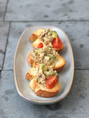 Snelle makreel salade recept www.jaimyskitchen.nl