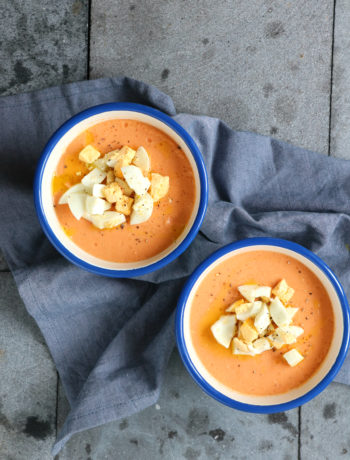 Recept Spaanse Salmorejo koude soep www.jaimyskitchen.nl