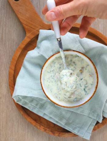 Recept zelfgemaakte tartaar saus www.jaimyskitchen.nl