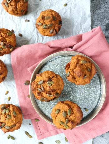 Recept pompoen muffins www.jaimyskitchen.nl