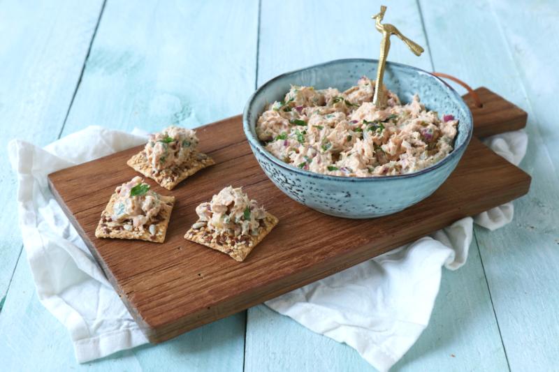 recept zelfgemaakte tonijn salade www.jaimyskitchen.nl
