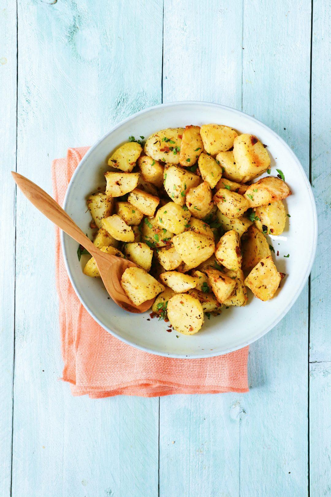 Recept geroosterde aardappeltjes www.jaimyskitchen.nl