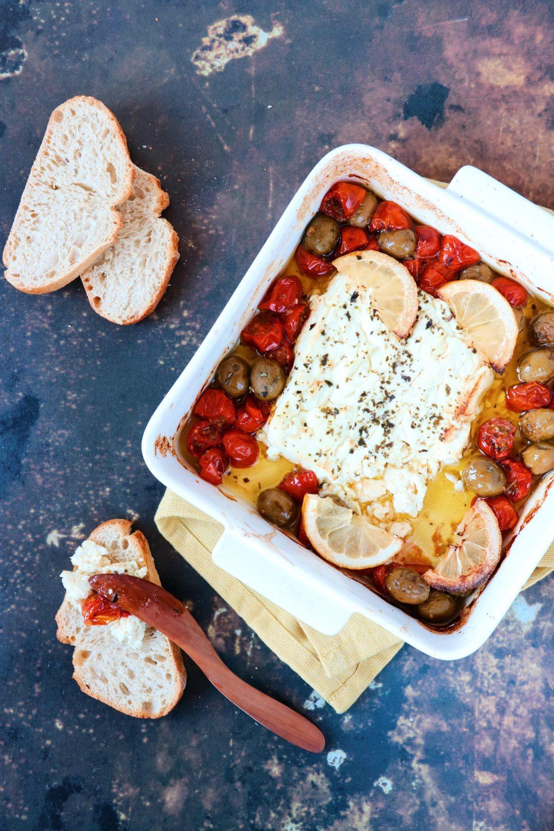 recept gebakken feta uit de oven www.jaimyskitchen.nl