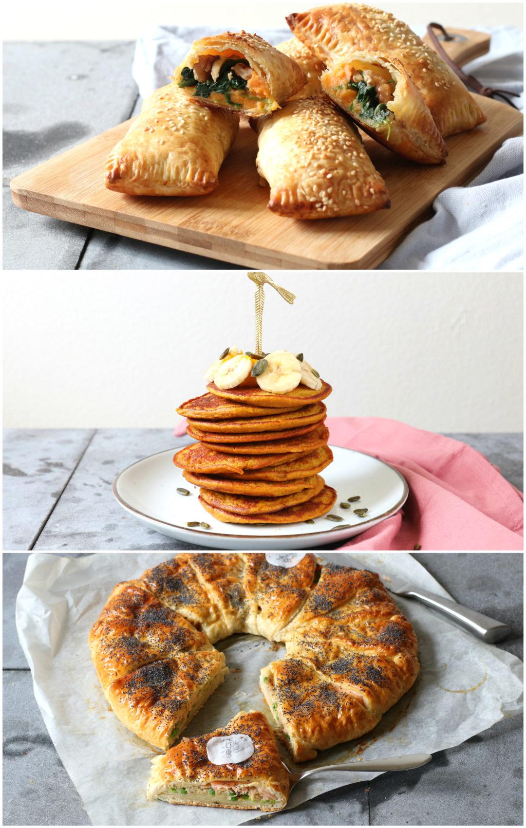 collage kerst ontbijt www.jaimyskitchen.nl
