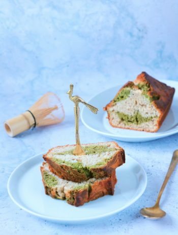 Recept bananenbrood met matcha www.jaimyskitchen.nl