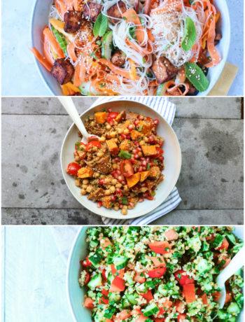 10 x salade recepten www.jaimyskitchen.nl