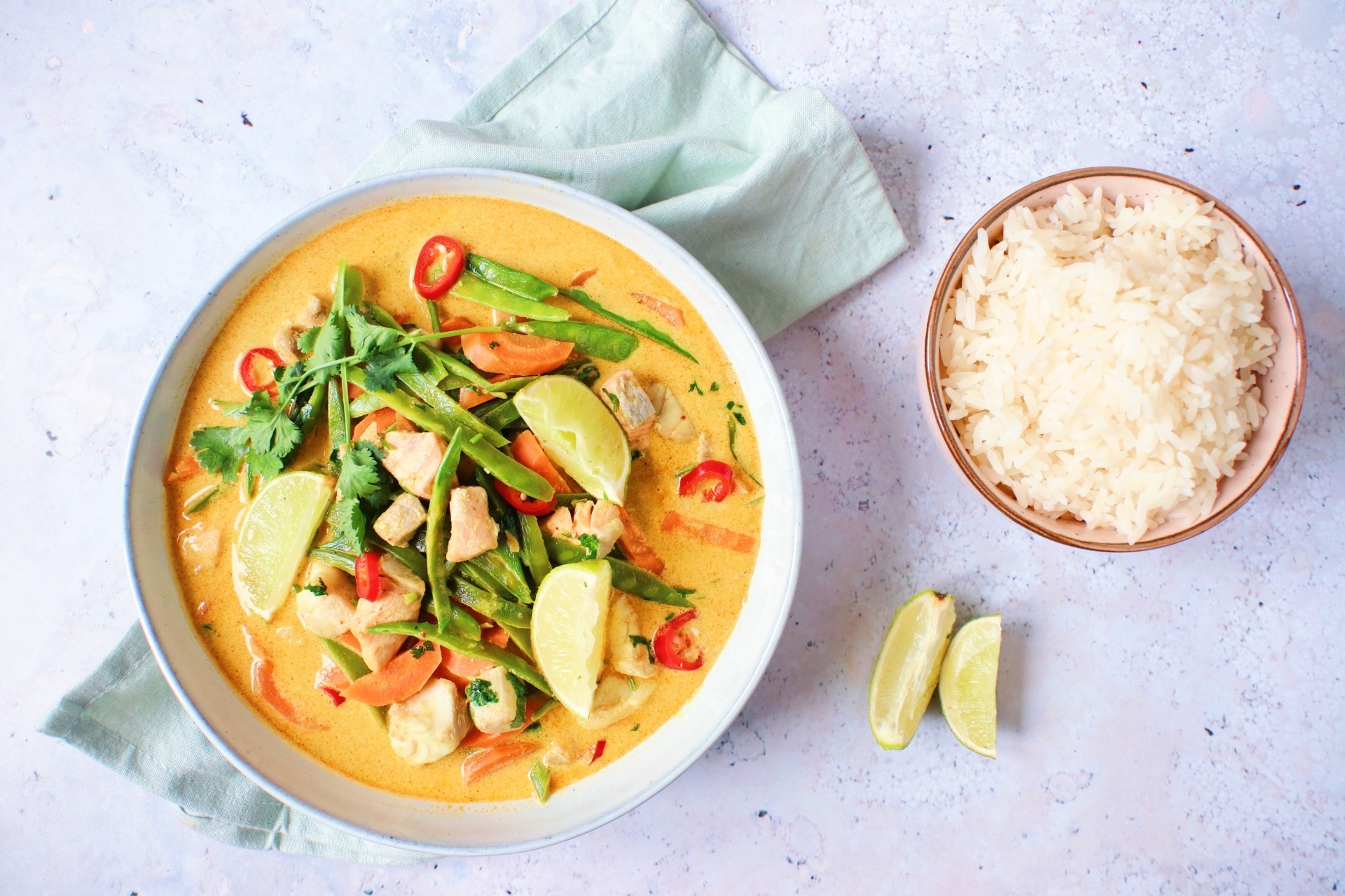 recept vis curry www.jaimyskitchen.nl