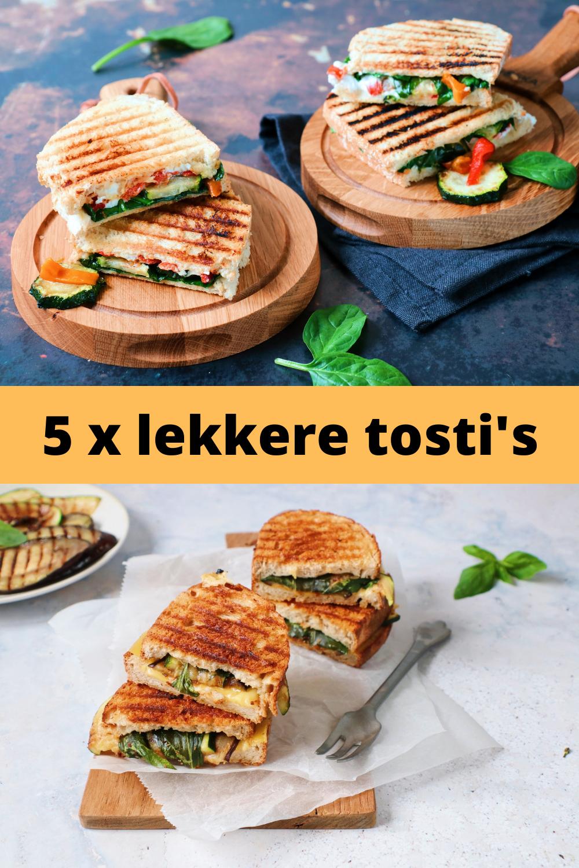 5 x lekkere tosti's www.jaimyskitchen.nl