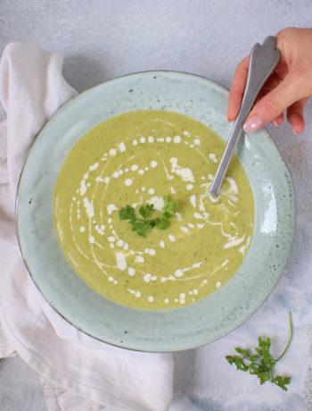 Courgette soep basis + variaties www.jaimyskitchen.nl