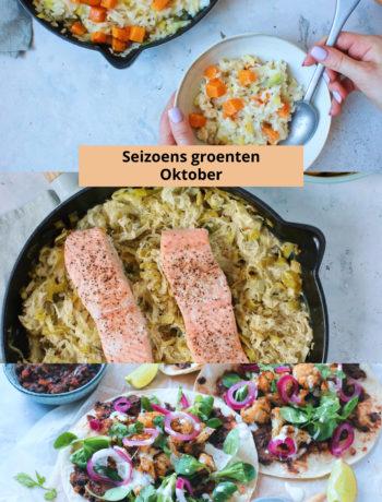 Seizoens groenten Oktober www.jaimyskitchen.nl